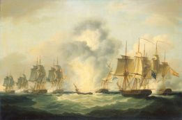 1200px-Francis_Sartorius_-_Four_frigates_capturing_Spanish_treasure_ships,_5_October_1804