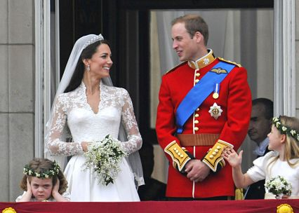 Mandatory Credit: Photo by David Fisher/REX/Shutterstock (1310708m) Catherine Middleton and Prince William The wedding of Prince William and Catherine Middleton, Buckingham Palace, London, Britain - 29 Apr 2011