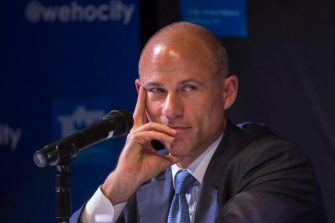 WEST HOLLYWOOD, CA - JULY 26: Attorney Michael Avenatti participates in a city-sponsored panel discussion on July 26, 2018 in West Hollywood, California. During the discussion, Avenatti announced that he is representing three more women who will come forth to claim they were paid by Donald Trump, AMI Entertainment and Michael Cohen to remain silent. Avenatti represents Stormy Daniels in her lawsuit against President Trump over a $130,000 payment to silence her about an alleged affair with Trump. (Photo by David McNew/Getty Images)