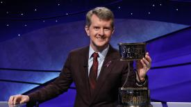 Ken Jennings Won The Trophy