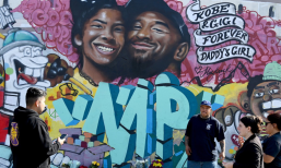 Kobe Bryant & His Daughter Gianna, Grafitti Art