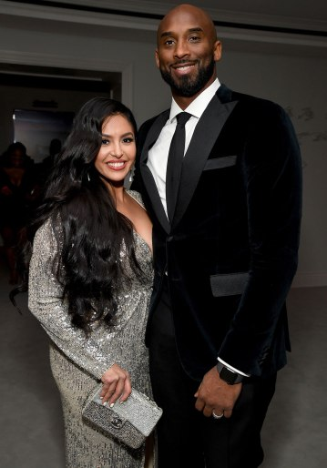 LOS ANGELES, CALIFORNIA - DECEMBER 14: (L-R) Vanessa Laine Bryant and Kobe Bryant attend Sean Combs 50th Birthday Bash presented by Ciroc Vodka on December 14, 2019 in Los Angeles, California. (Photo by Kevin Mazur/Getty Images for Sean Combs)