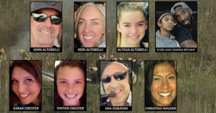 The 9 Dead Helicopter Crash Victims & Background
