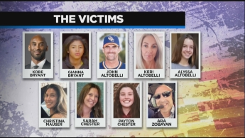 The 9 Dead Helicopter Crash Victims