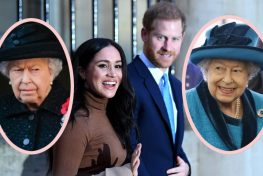 The Queen Disappointed In Harry's Megxit Meme