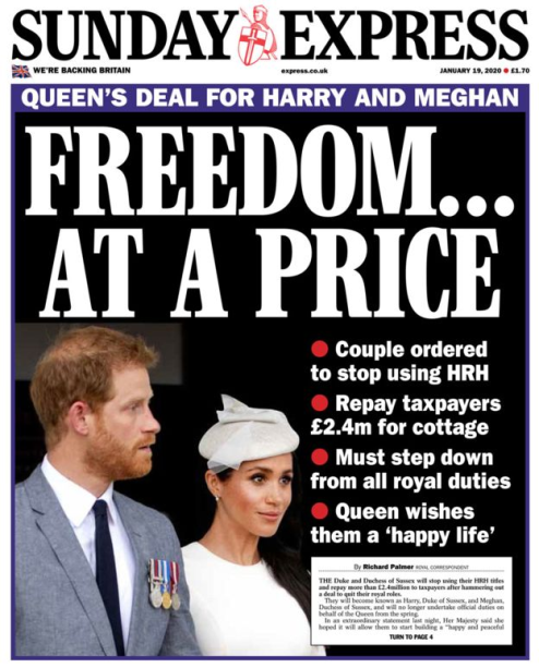 The Royal Cost