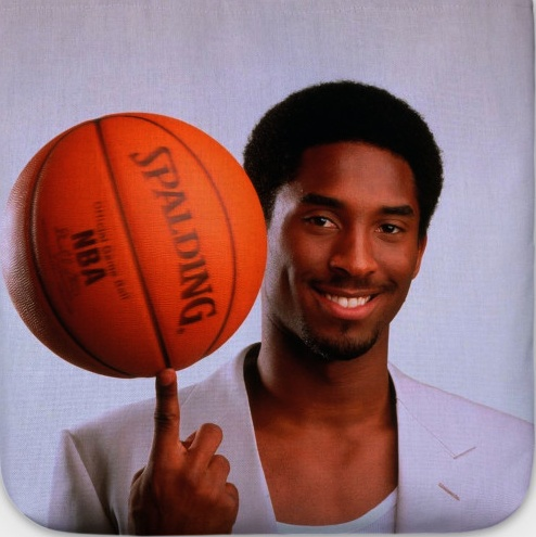 Young Kobe Bryant, Pose