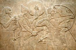 Ishtar Follows Sumerian War Plaque