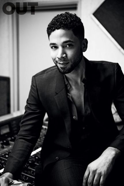Jussie Smollet In Studio