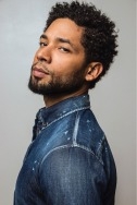 Jussie Smollett In Jeans Top, Spotlight, Schumer Media Group
