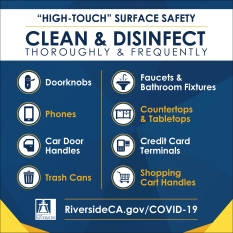 Covid-19 Clean & Disinfect Ad