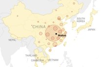 Wuhan, China Covid-19 Outbreak