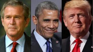 Bush Jr., Obama, & Trump
