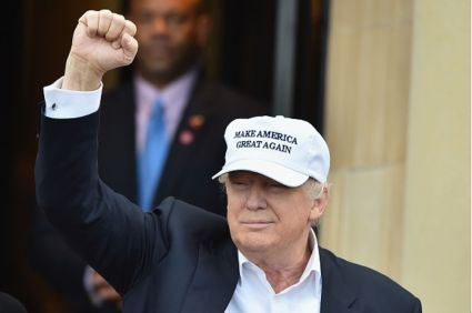 Trump Maga Hat And Fist