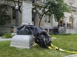 Another Statue Bites The Dust