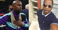 Boxer Floyd Mayweather In Support of George Floyd