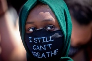 Protester, I Still Can't Breathe Mask