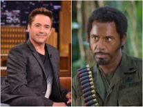 Robert Downey Jr In Blackface