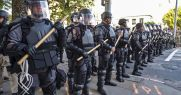 Infantry Cops Geared Up