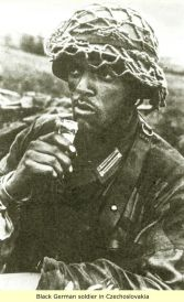 Black German Soldier