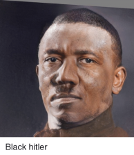 Black Hitler Imagery