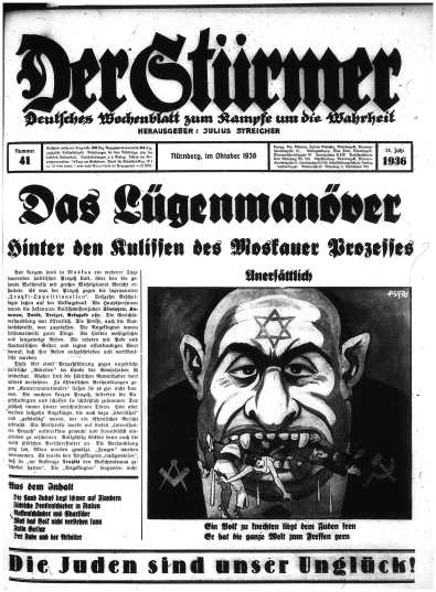 German News Paper About Jews