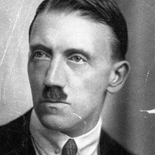 Hitler With Mustache