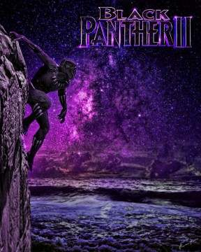 Black Panther 2 Night Poster