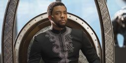 Chadwick Boseman as King T'Challa
