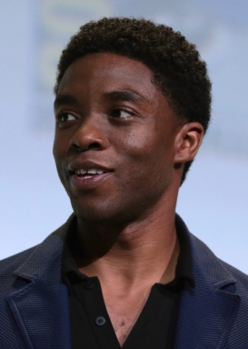 Chadwick Boseman Side Profile