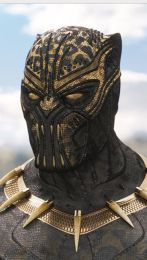 Killmonger as Black Panther