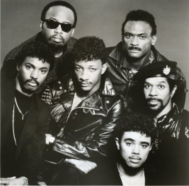 Kool & The Gang BxW Photo