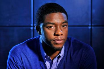"""WASHINGTON, DC - MARCH 18: Chadwick Boseman poses for a portrait at the Ritz-Carlton Georgetown, Washington, DC on Monday March 18, 2013 in Washington, DC. Boseman portrays Jackie Robinson in the movie, """"42"""". (Photo by Matt McClain for The Washington Post via Getty Images)"""