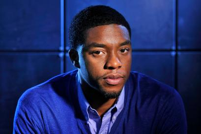 "WASHINGTON, DC - MARCH 18: Chadwick Boseman poses for a portrait at the Ritz-Carlton Georgetown, Washington, DC on Monday March 18, 2013 in Washington, DC. Boseman portrays Jackie Robinson in the movie, ""42"". (Photo by Matt McClain for The Washington Post via Getty Images)"