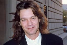 A Corporate Shot Of Eddie Van Halen