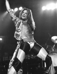 David Lee Roth Acting Silly