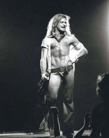 David Lee Roth Body Pose