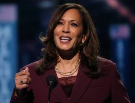 Democratic VP Nominee Kamala Harris