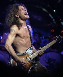 Eddie Van Halen Body Photo