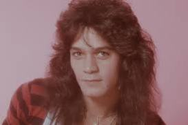 Eddie Van Halen Cool Photo