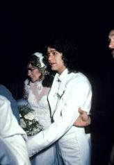 Eddie Van Halen & Valerie Bertinelli Wedding Photo