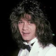 Eddie Van Halen Wedding Photo