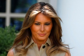 Melania Trump Out And About