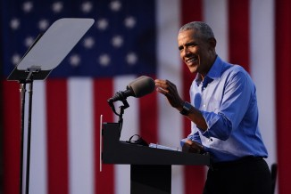 Obama Campaigning for Joe Biden