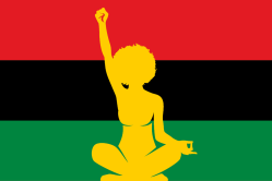 RBG Flag, Black Female