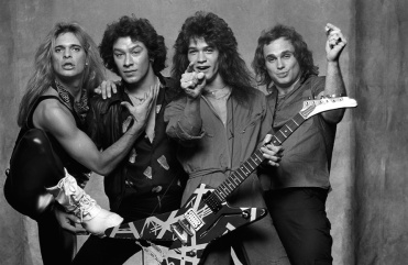 Van Halen Women And Children First, Back Cover Photo By Norman Seeff