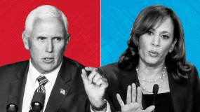 VP Mike Pence Face Off With Kamala Harris