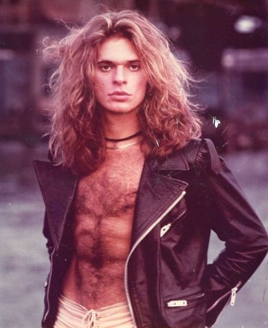 Young David Lee Roth