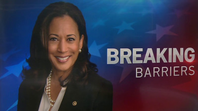 Kamala Harris Breaking Bariers