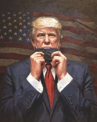 President Trump Art Covid-19 In America